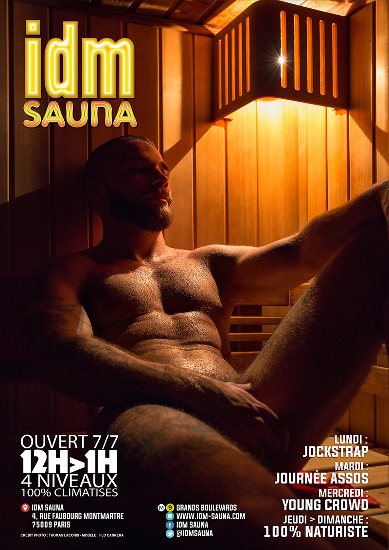 MIRACLE AND RAW AT IDM SAUNA