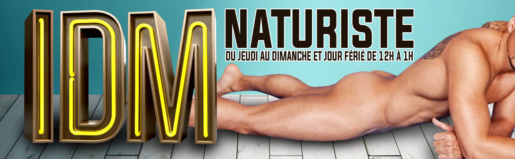 IDM SAUNA - NAKED EVENT